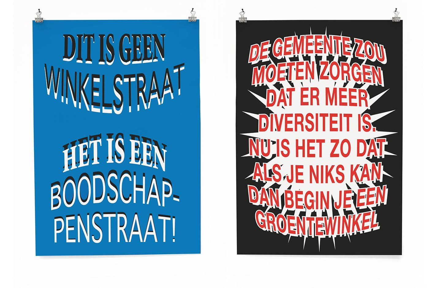 Amsterdam Opportunity Zones posters