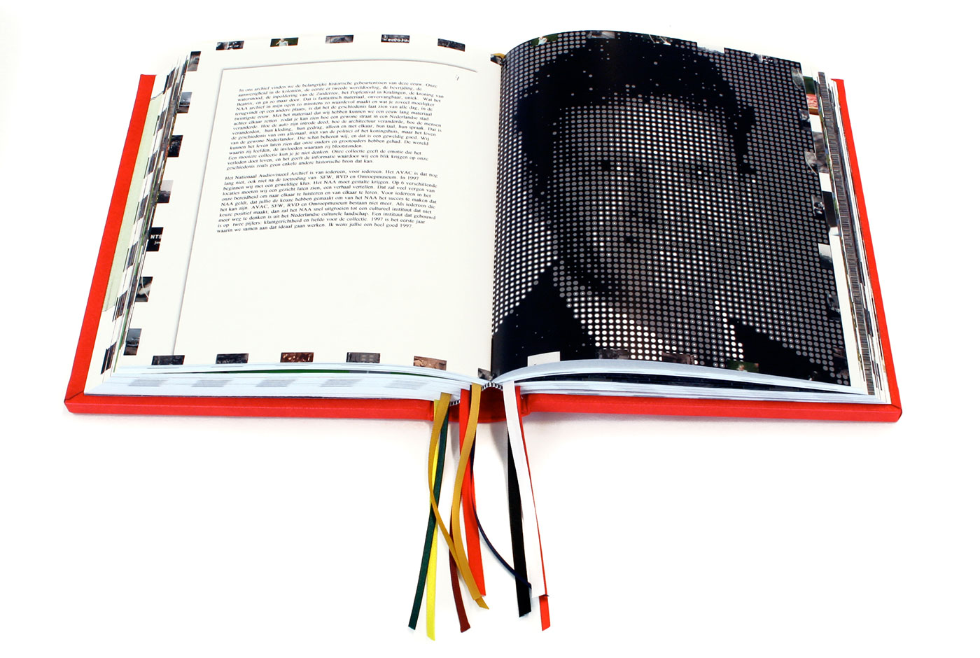The Gift of Sound and Vision book editorial design