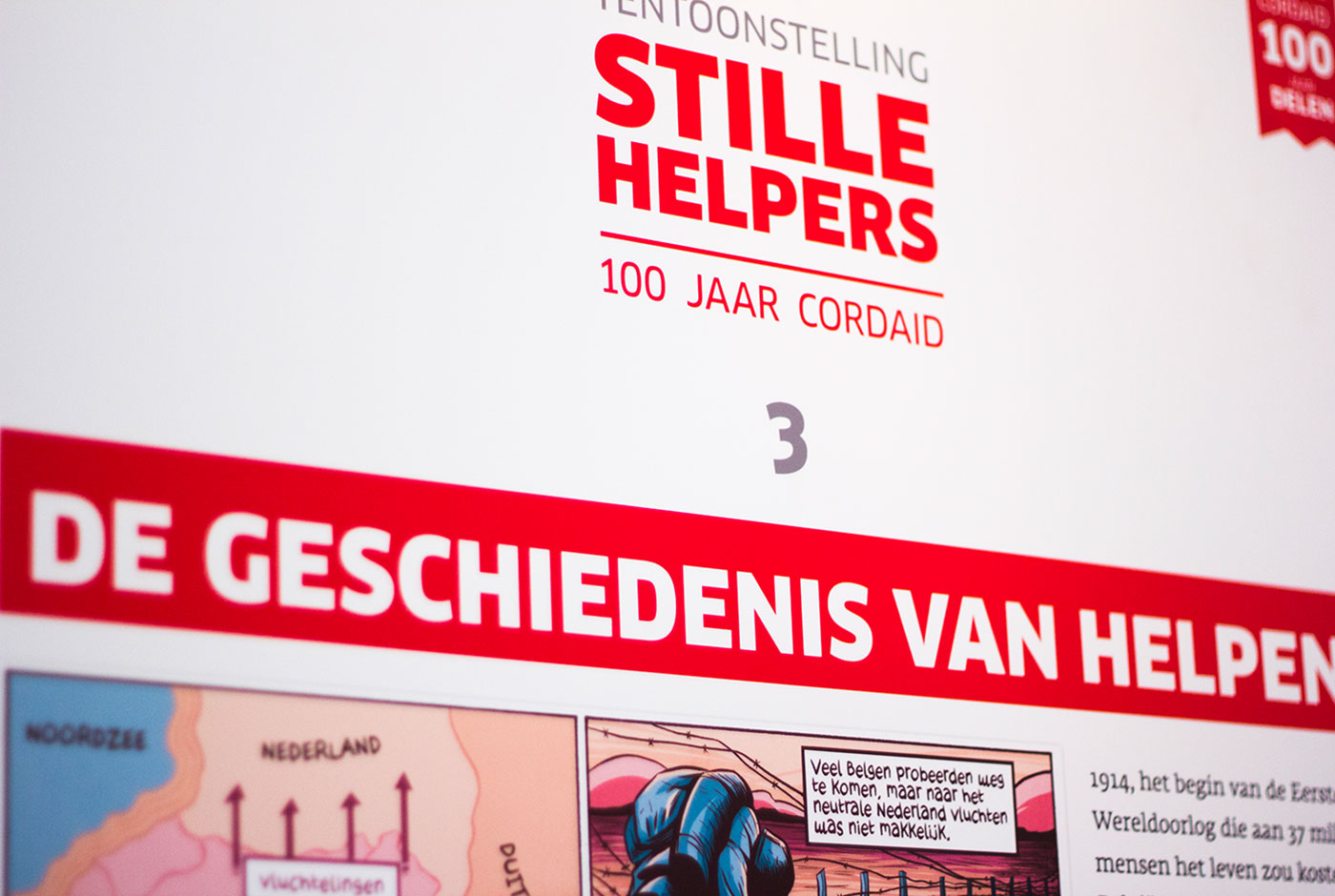 Cordaid Silent Helpers – 100 Years of Cordaid Exhibition