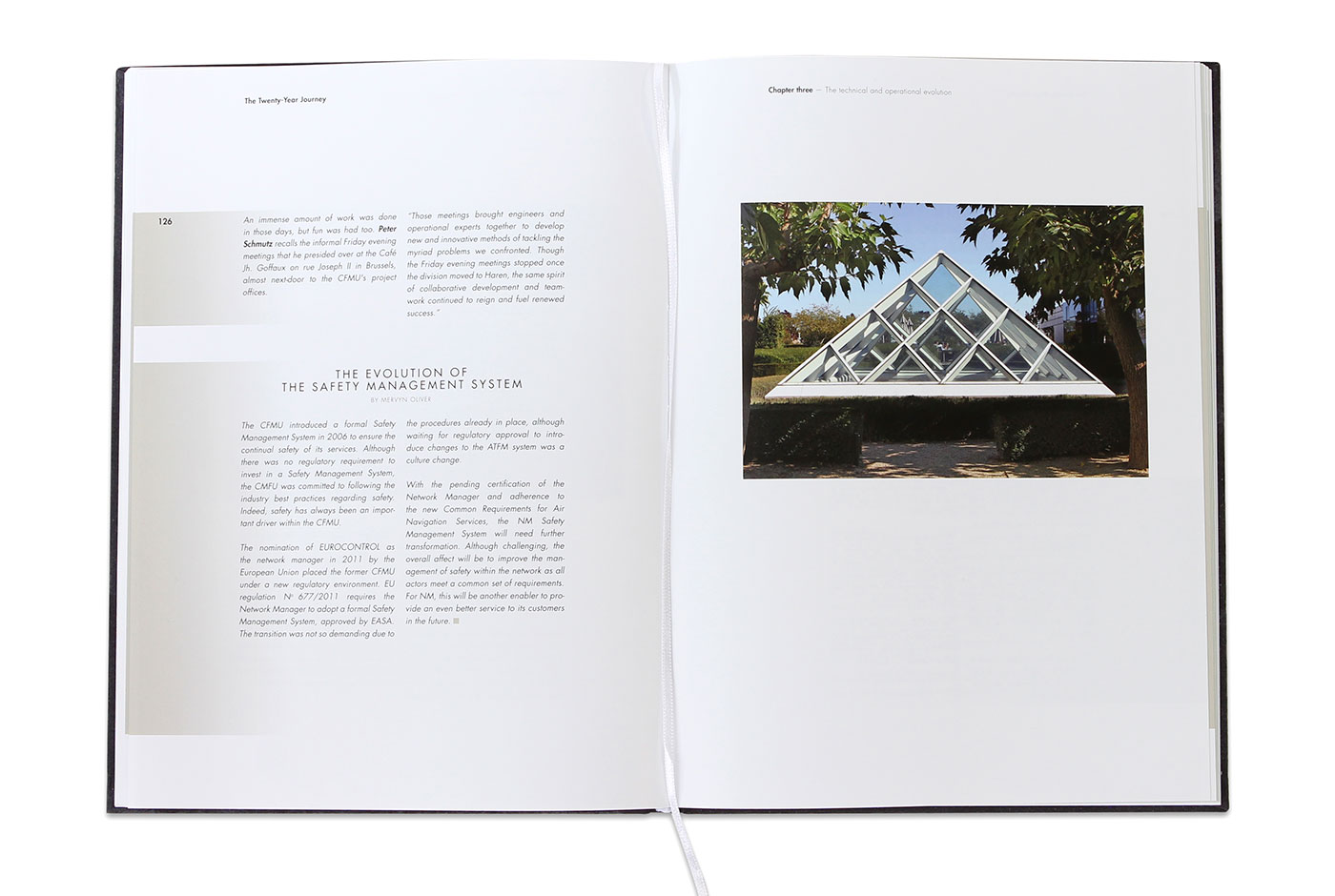 The Twenty-Year Journey Editorial design