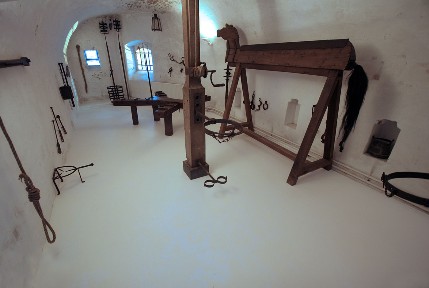 Torture Basement Exhibition