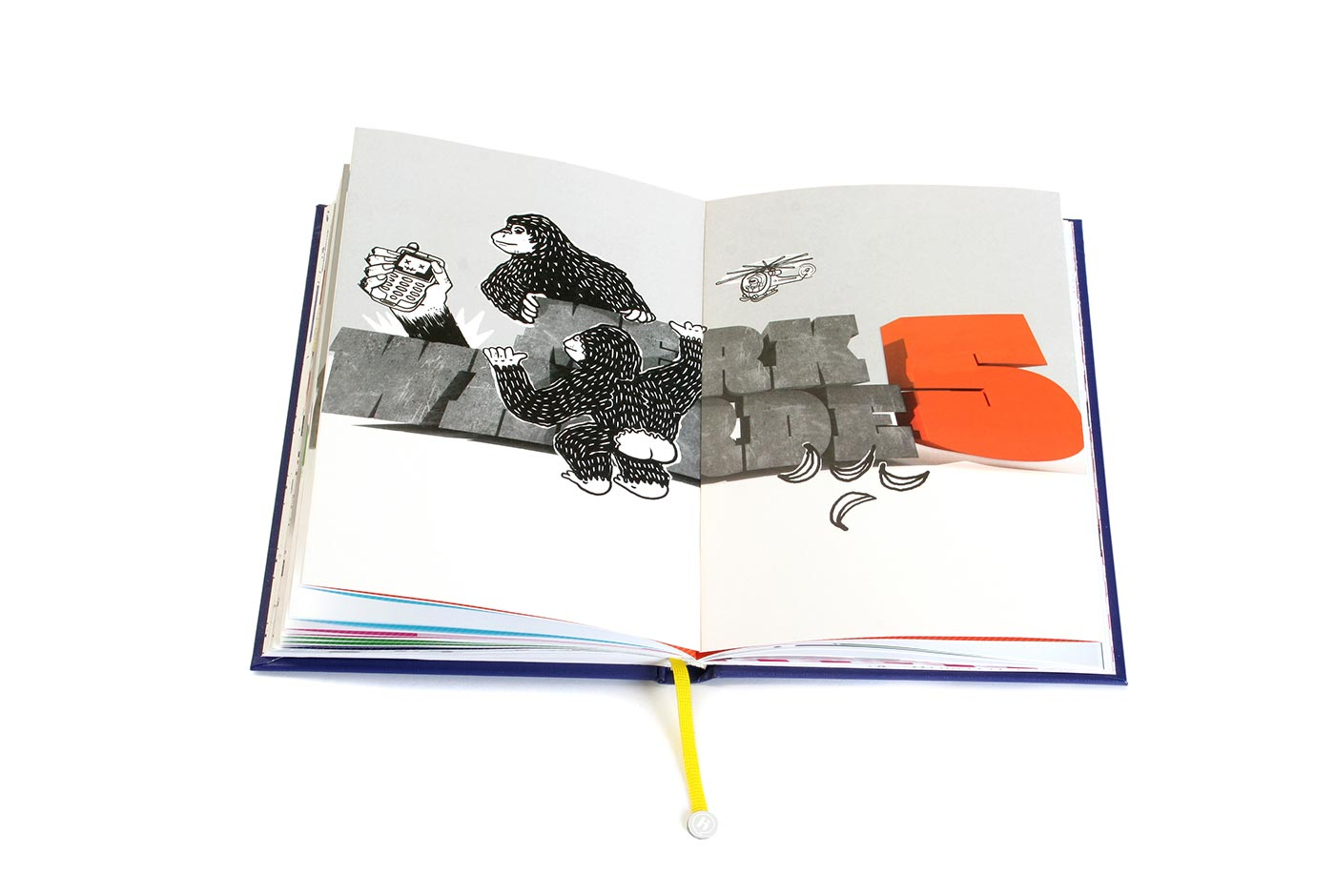 Hi Brand Book editorial design