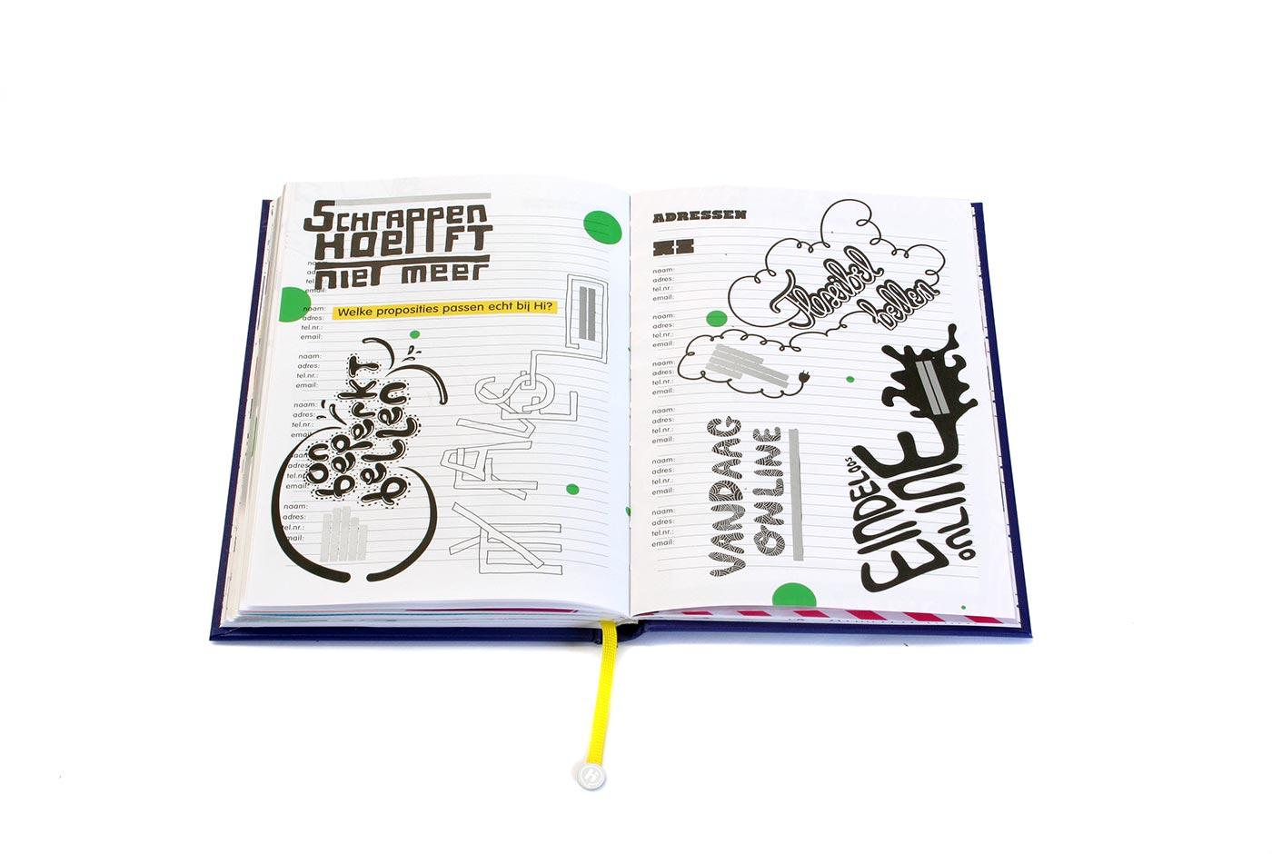 Hi Brand Book editorial design