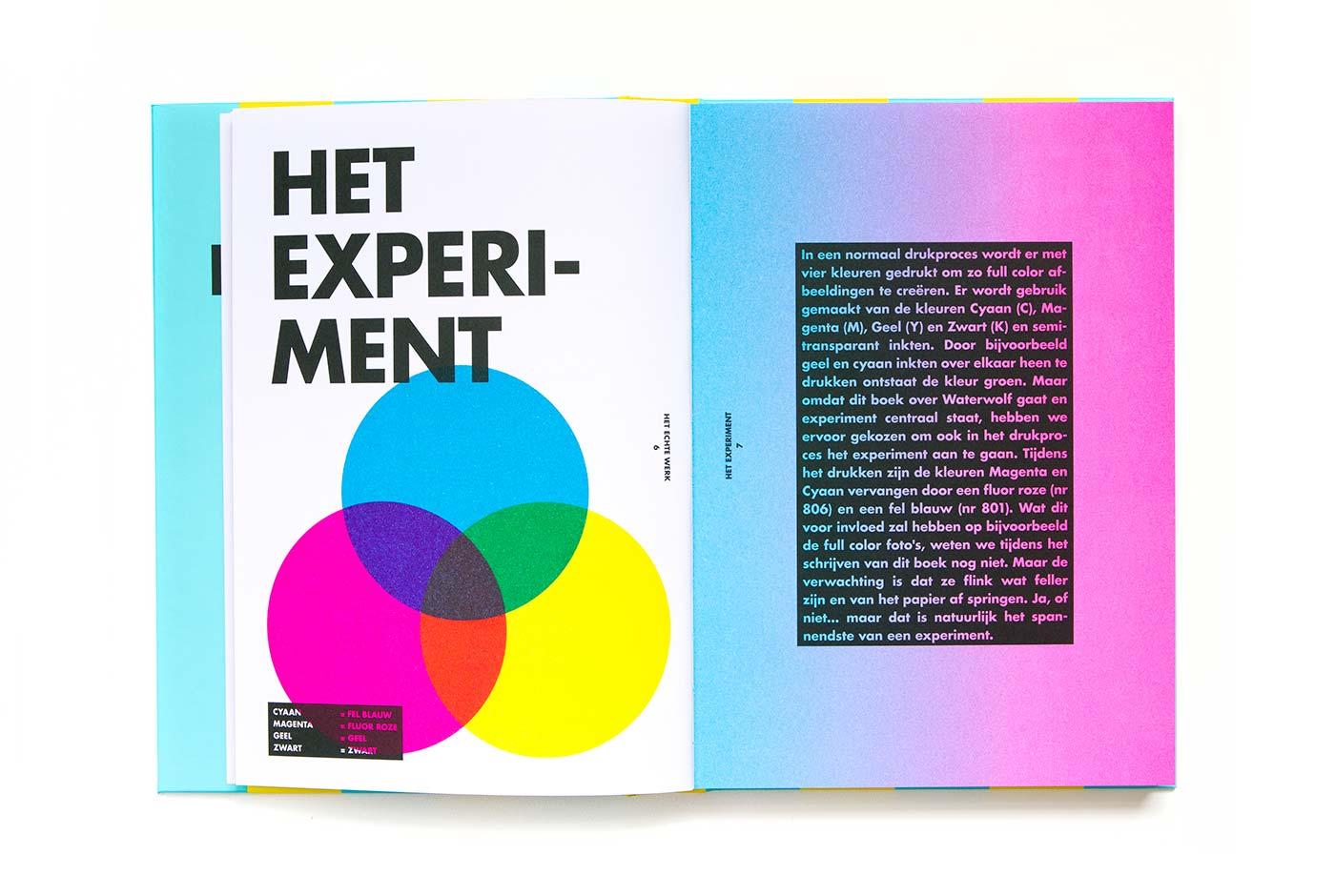 Het echte werk Book editorial design