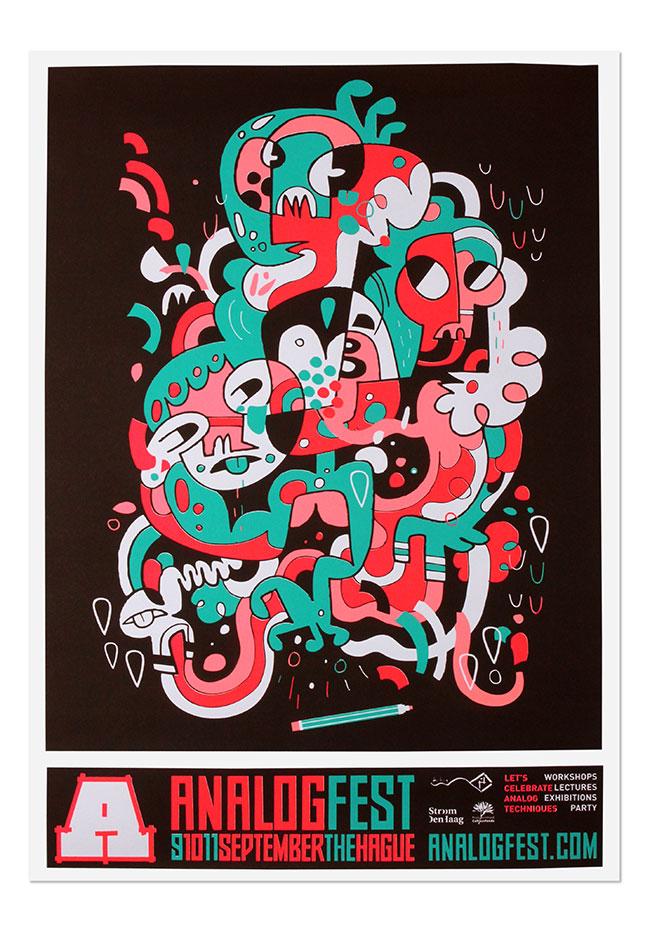Analogfest Festival Identity