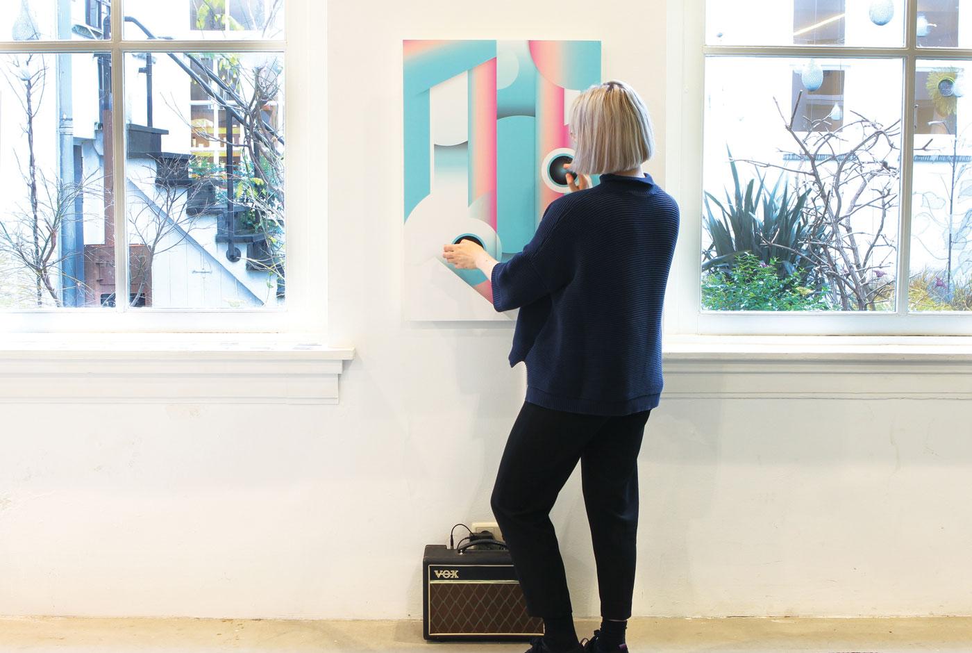 Interactive soundposter