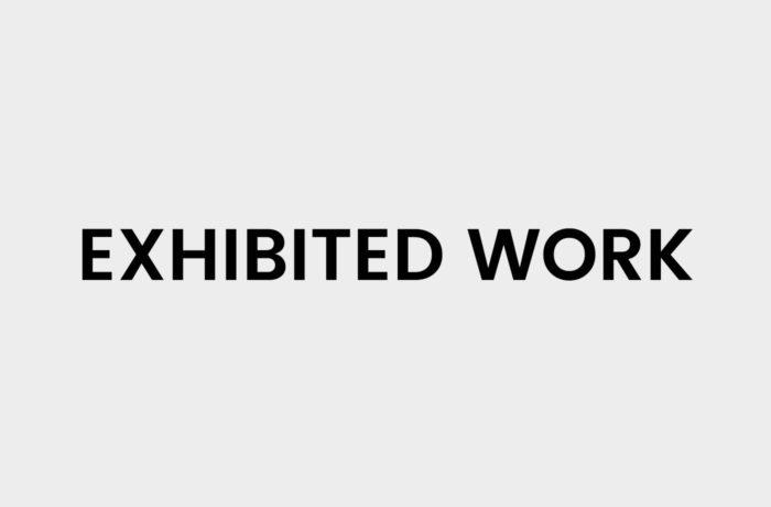 Exhibited Work