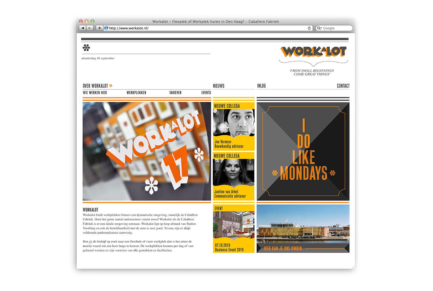 Workalot Identity