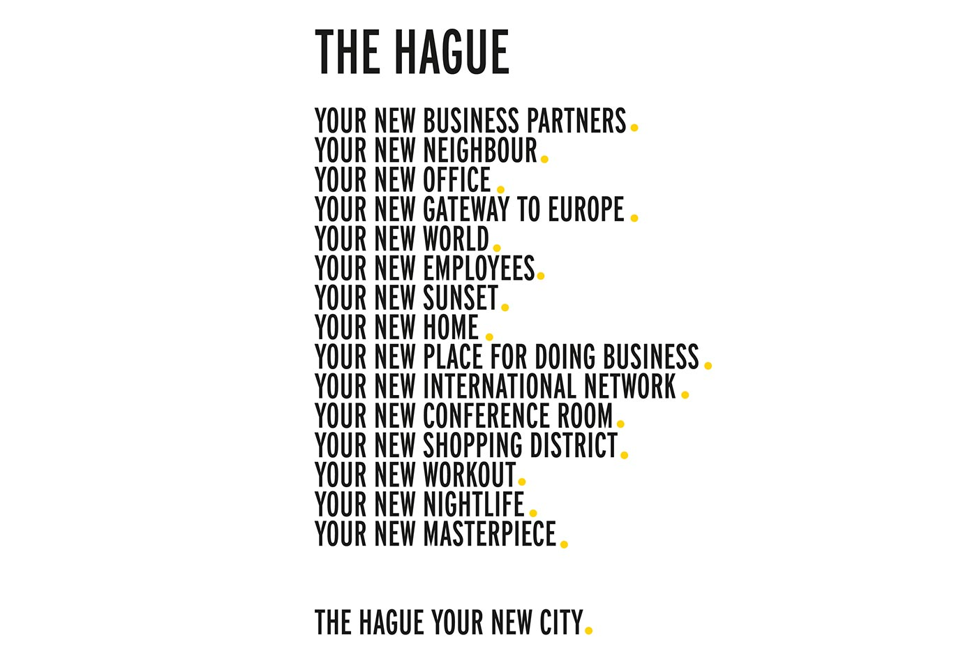 Your New City Identity